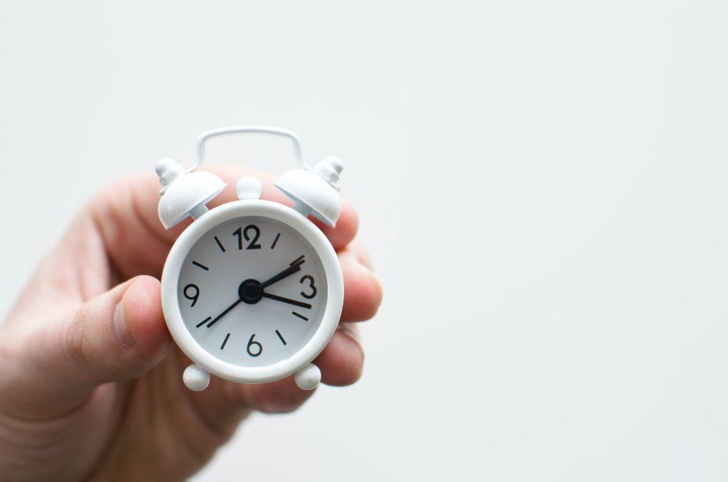 時間管理の難しさ