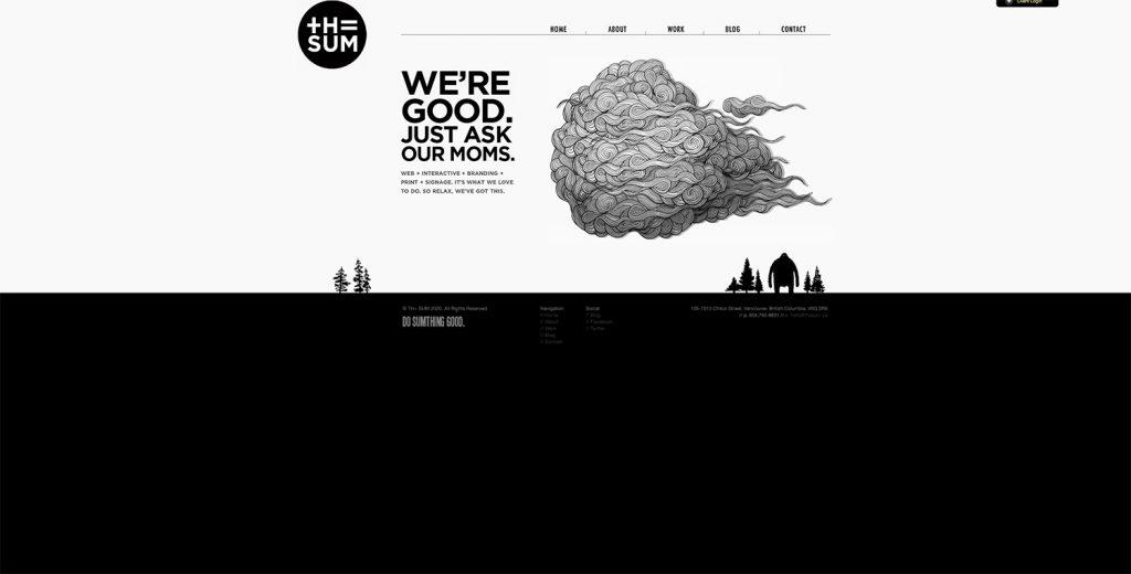 webデザインのトレンド画像