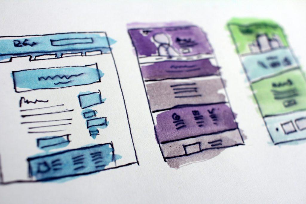デザインのラフ画