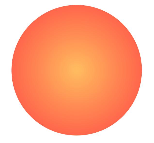 円形グラデーション