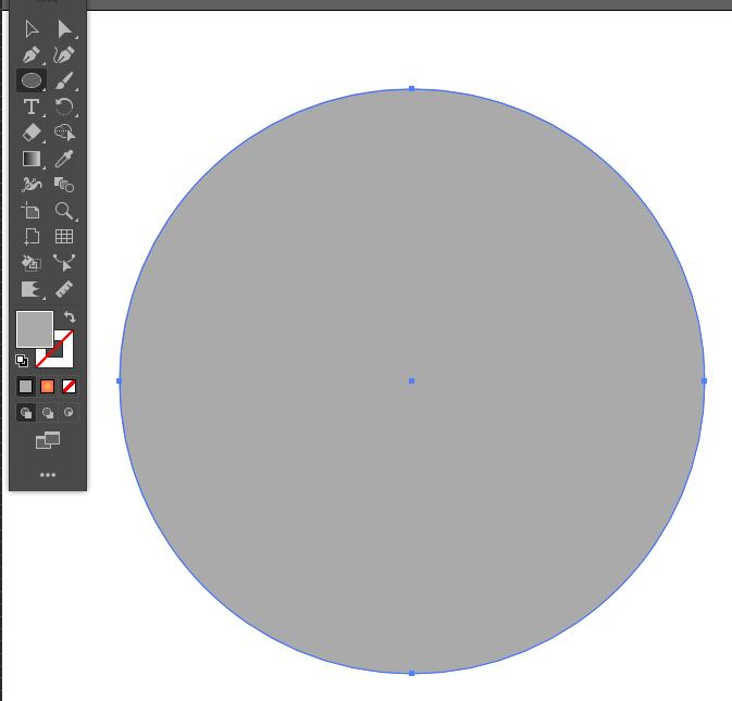 円形グラデーションの作り方1