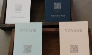 「voyage letterpress」インタビュー『活版印刷の面白さを伝えたい』